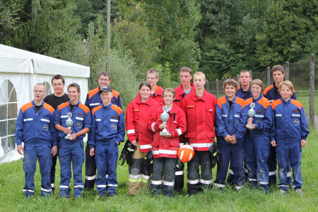 Jugendfeuerwehrplauschwettkampf Nuolen 2011 500